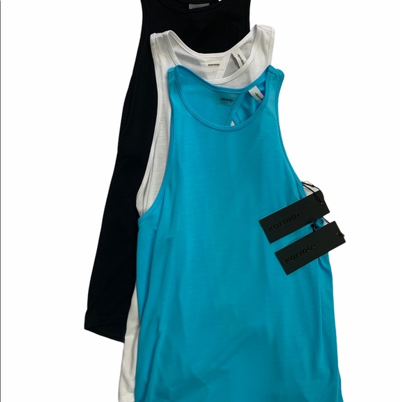 3 PACK-Jackie Tank-Turquoise